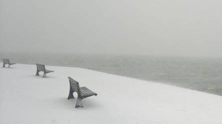 Tarabya on Snow by nerval