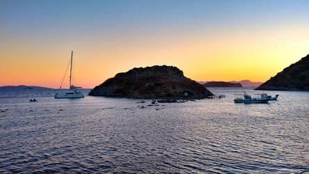 Rabbit Island, Gumusluk, Bodrum, Turkey by nerval