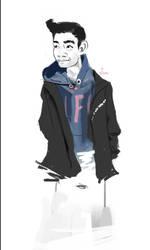 katamaris4ever sketch #01 by arcnicogene