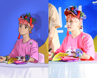flower Jjong by TheLocked