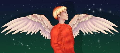 Angel Jonghyun by TheLocked