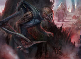 Blighted Agent by Ubermonster