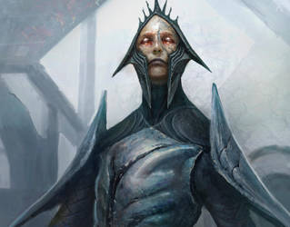 Close up on Magus of the Future by Ubermonster