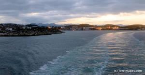 Stavanger sunrise by joerimages
