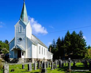 Hjelme gamle kyrkje by joerimages