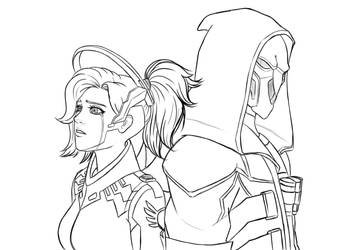 Mercy and Reaper by WinterMaiden11