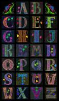 .: Celtic Alphabet :. by Caelitha