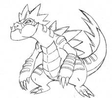 Project Fakemon: Mega Feraligatr by XXD17