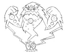 Project Fakemon: Mega Spiritomb by XXD17