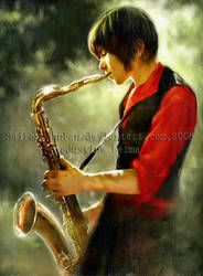 Saxophone Solace by SaiFongJunFan