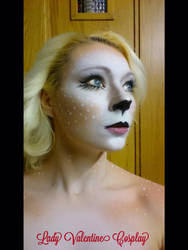 Fawn makeup by LadyValentineCosplay