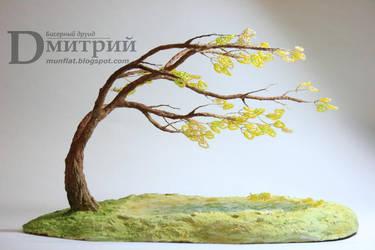Composition 'Autumn wind' by BeadedDruid