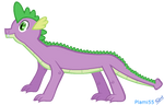 Spike grown up by plami55