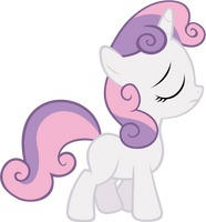 Sweetie Belle - Prissy by Ocarina0fTimelord