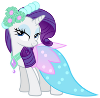 Rarity - Dress by Ocarina0fTimelord