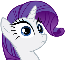 Rarity - Stare by Ocarina0fTimelord