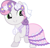 Sweetie Belle - Dress by Ocarina0fTimelord