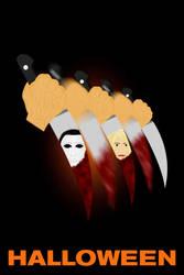 Halloween Poster Fanart by C-Cris21