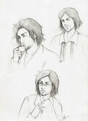 Good morning, Cesare - Sketch by Zsoszy