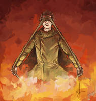 Survivor of the Flames by Zsoszy