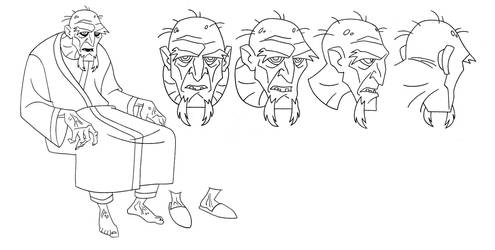 ANIMATION: Superman: Old Ras Al Ghul by StephenBJones