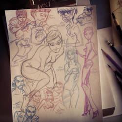 SKETCH: Daily Warm-up Sketch#1 by StephenBJones