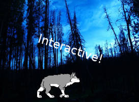 Interactive Wolf by Tienala