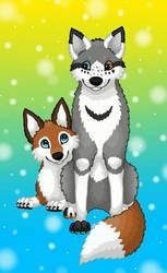 Canine Friends by Tienala