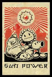 Sun Power PvZ by FutureDwight