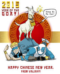 Chinese New Year with Valiant Comics! by FutureDwight