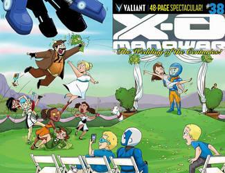 X-O Manowar Cover by FutureDwight