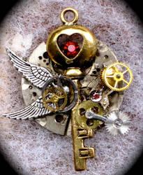 Steampunk Key by Lucky978