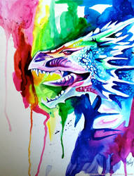 Rainbow Dragon by Lucky978