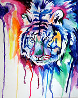Rainbow Tiger by Lucky978