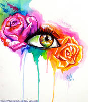 Rose Eye by Lucky978