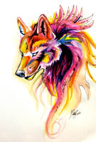 Wolf Flame by Lucky978
