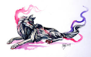 Mystic Wolf by Lucky978