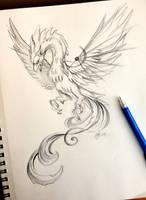 Mechanical Phoenix by Lucky978
