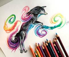 28- Black Rainbow Galaxy by Lucky978