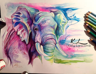 81- Elephant II by Lucky978
