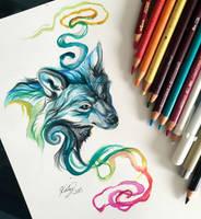 114- Rainbow Mist by Lucky978