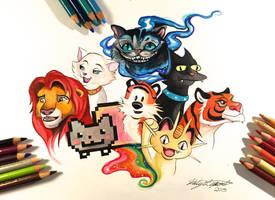 137- My Favorite Felines by Lucky978
