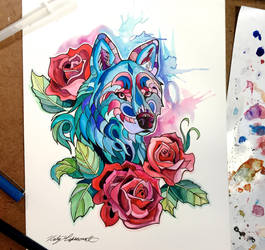 313- Rose Wolf by Lucky978