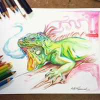 358- Iguana by Lucky978