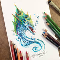 Sea Serpent by Lucky978