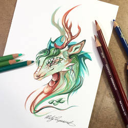 Forest Dragon by Lucky978