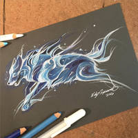 Wolf Patronus by Lucky978