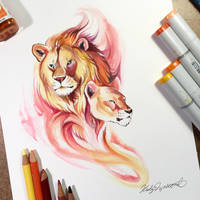 Lions by Lucky978