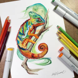 Chameleon by Lucky978