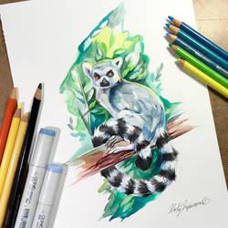 Lemur by Lucky978